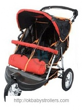 Stroller ABC Design 3W Twin Air