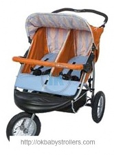 Stroller ABC Design 3W Twin Air S