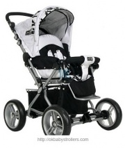 Stroller ABC Design Pramy Luxe