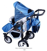 Stroller Androx four-wheel(2 in 1)
