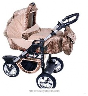 Stroller Androx three-wheel (2 in 1) Exclusive