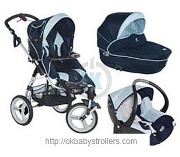 Stroller Bebe confort High Trek (3 in 1)