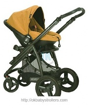 Stroller Bebecar Ip-Op AT (3 in 1)