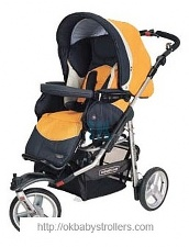 Stroller Bebecar Racer City (2 in 1)