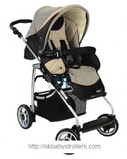 Stroller Bebecar Tracker City (jogging)