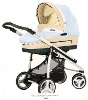 Stroller Bebecar Vector (2 in 1)