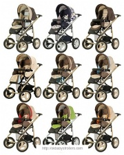 Stroller Bebecar Vector AT (2 in 1)