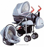 Stroller Chicco Trio Ct 0.1