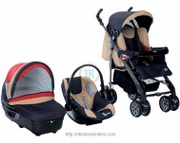Stroller Chicco Trio Ct 0.1 Complete
