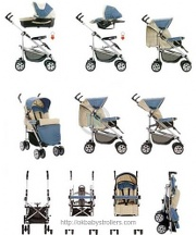 Stroller Chicco Trio Enjoy Evolution