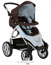 Stroller Deltim X-lander XA Limited Edition (2 in 1) 09
