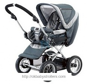 Stroller Emmaljunga City Cross Sport Stroller plus City Carrycot