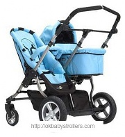 Stroller Firstwheels City Twin