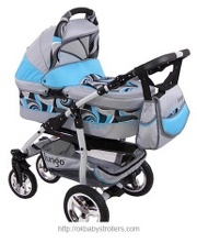 Stroller Happych Lungo (2 in 1)