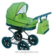 Stroller Happych Roxana (2 in 1)