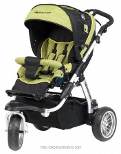 Stroller Herqules Raptor 3-spin + Duo-Lift