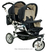 Stroller Jane Powertwin (jogging)