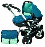 Stroller Jane Slalom Pro Reverse Matrix (2 in 1)