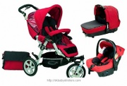 Stroller Jane Slalom Pro Strata Travel System 2008 (3 in 1)