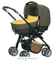 Stroller Jane Solo Complete Car (2 in 1)