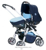 Stroller Jane Solo Matrix Cup Version (2 in 1)