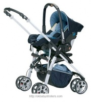 Stroller Jane Solo Rebel Travel System 2008 (3 in 1)