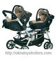 Stroller Jane Twin Two Strata