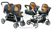 Stroller Jane Twin Two Strata (2 in 1)