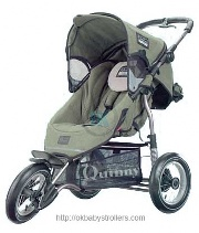 Stroller Maxi-Cosi Quinny Freestyle 3XL (jogging)