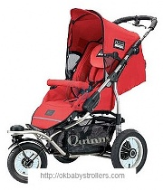 Stroller Maxi-Cosi Quinny Freestyle 3XL Comfort (2 in 1)