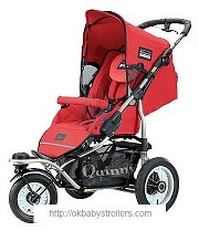 Stroller Maxi-Cosi Quinny Freestyle 3XL Comfort (3 in 1)