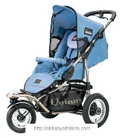 Stroller Maxi-Cosi Quinny Freestyle 3XL Comfort