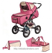 Stroller Mikrus Viking 2 in 1