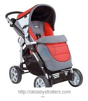 Stroller Peg-Perego AT-4 Completo