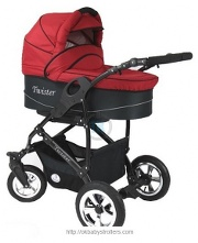Stroller Prampol Twister (2 in 1)