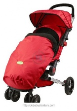 Stroller Quick Smart Easy Fold Stroller Footmuff