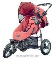 Stroller Quinny Freestyle 3XL (jogging)