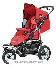 Stroller Quinny Freestyle 3XL Comfort (3 in 1)