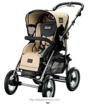 Stroller Quinny Freestyle 4 XL (jogging)