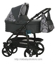 Stroller Retrus Fire (2 in 1)