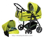 Stroller SlARO TEAM Gloria B (3 in 1)