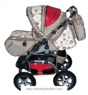Stroller Teddy Jessi Lux PC