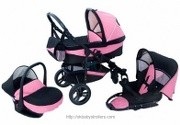 Stroller Tomkon Fit Line (3 in 1)